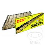 DID X-RING CHAIN G&B530VX3/108ENDLESS CHAIN